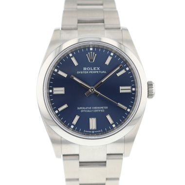 Rolex - Oyster Perpetual 36 Blue Dial 126000 NEW!
