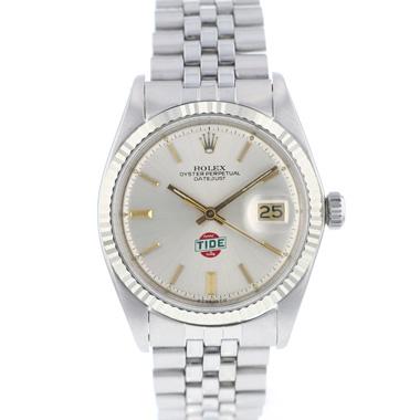 Rolex - Datejust 36 Fluted Sigma Dial Jubilee TIDE Logo