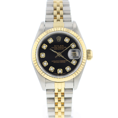 Rolex - Datejust 26 Lady Gold/Steel Jubilee Diamond Dial