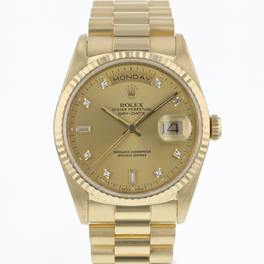 Rolex - Day-Date 36 Yellow Gold/ Diamond Dial