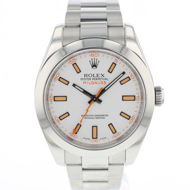 Rolex - Milgauss White