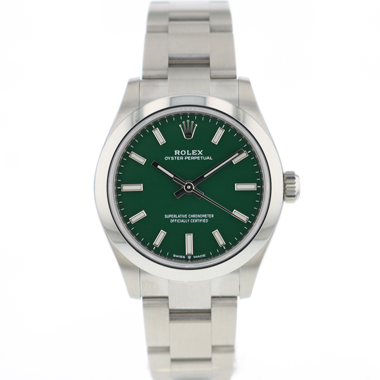 Rolex - Oyster Perpetual 31 Lady Green Dial NEW 2021