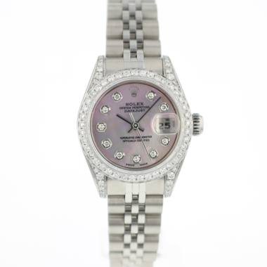 Rolex - Datejust Lady 26 Jubilee Pink MOP Diamonds