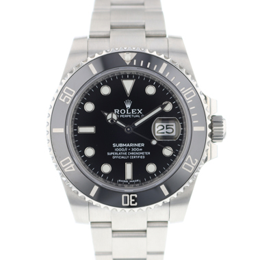Rolex - Submariner Date Black Ceramic