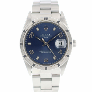 Rolex - Oyster Perpetual Date Blue Dial