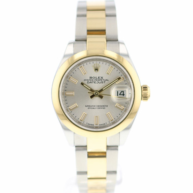 Rolex - Datejust 28 Steel / Gold Oyster Smooth