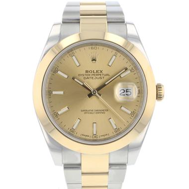 Rolex - Datejust 41 Gold / Steel