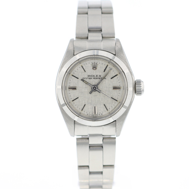 Rolex - Oyster Perpetual lady Linen dial