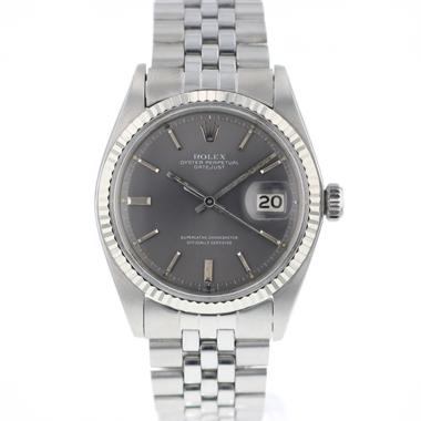 Rolex - Datejust 36 Jubilee Fluted Jubilee Grey Dial