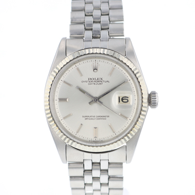 Rolex - Datejust 36 Fluted Silver Dial