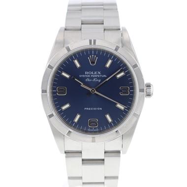 Rolex - Air-King Precision Blue Arabic Dial