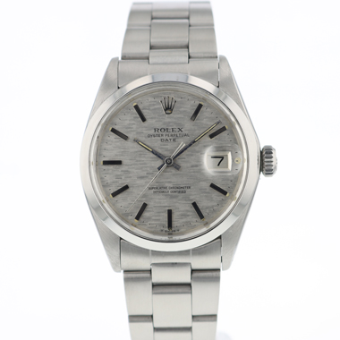 Rolex - Oyster Perpetual Date Textured Dial
