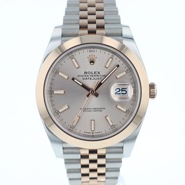 Rolex - Datejust 41 Steel / Everose Gold Jubilee NEW