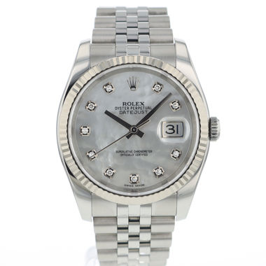 Rolex - Datejust 36 MOP Diamonds Dial