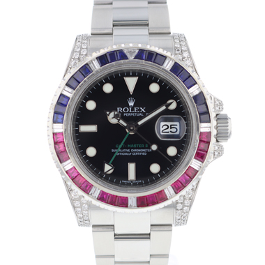 Rolex - Gmt-Master II  Saru Diamonds