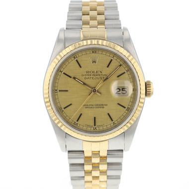 Rolex - Datejust 36 Steel/Gold jubilee Linen Dial