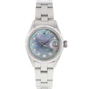 Rolex - Oyster Perpetual Date Lady MOP Diamonds