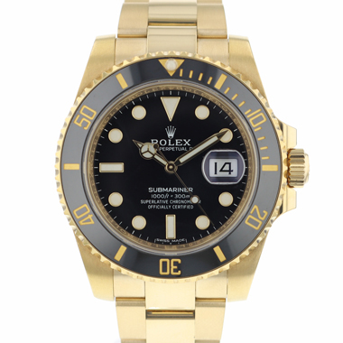 Rolex - Submariner Date Yellow Gold