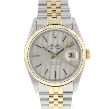 Rolex - Datejust 36 Steel/Gold Jubilee Tapestry Dial