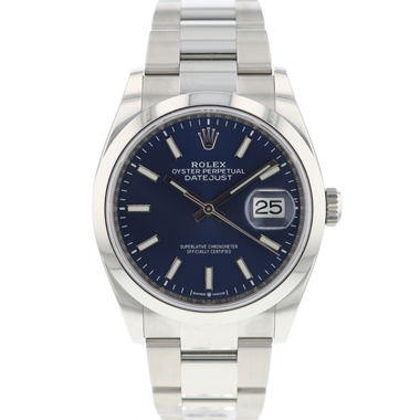 Rolex - Datejust 36 126200 Blue Dial NEW