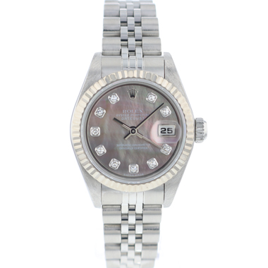 Rolex - Lady-Datejust 26 Lady Jubilee Fluted MOP Diamond Dial