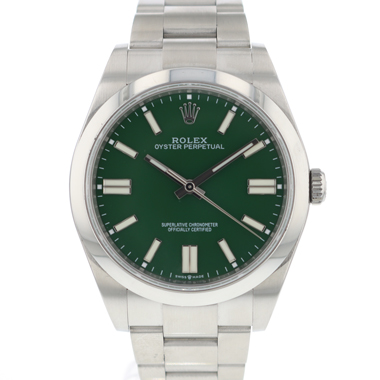 Rolex - Oyster Perpetual 39 Green Dial