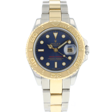 Rolex - Yacht-Master Lady 29 Gold/Steel Blue Dial
