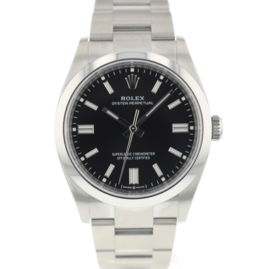 Rolex - Oyster Perpetual 36 Black Dial 126000 NEW