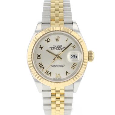 Rolex - Datejust 28 Steel / Gold Fluted Jubilee