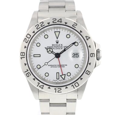 Rolex - Explorer II White Dial