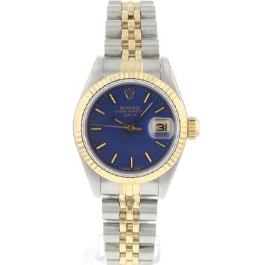 Rolex - Datejust 26 Gold/Steel Jubilee Blue Dial