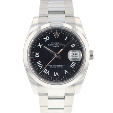 Rolex - Oyster Perpetual Date 34 Black Dial