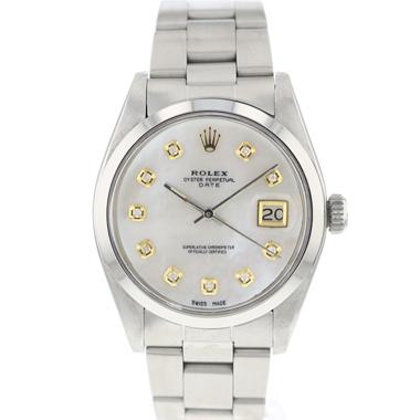 Rolex - Oyster Perpetual Date MOP Diamonds