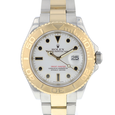 Rolex - Yacht-master 40 Steel / Gold White Dial