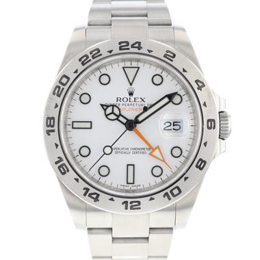 Rolex - Explorer II White