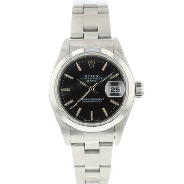 Rolex - Oyster Perpetual Date Lady Black Dial
