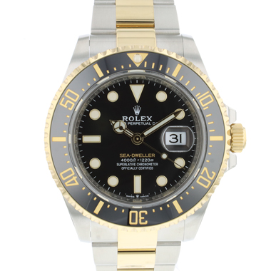 Rolex - Sea-Dweller Steel / Gold NEW