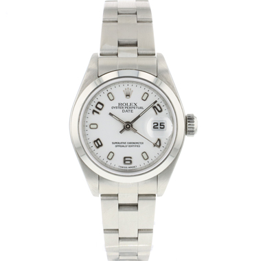 Rolex - Oyster Perpetual Date 26 Lady White Dial