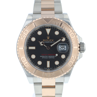 Rolex - Yacht-master 40 Steel-Everose Gold Black Dial NEW