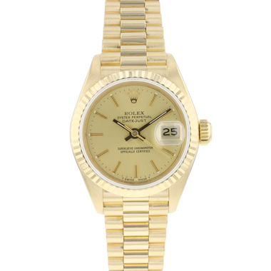 Rolex - Datejust Lady 26 Yellow Gold President