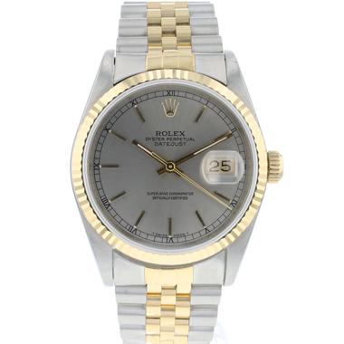 Rolex - Datejust 36 Jubilee Gold/Steel Jubilee Silver/Grey Dial