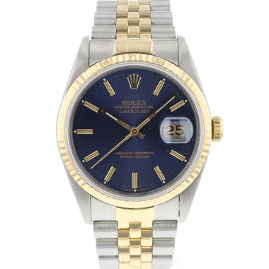 Rolex - Datejust 36 Jubilee Gold/Steel Jubilee Blue Dial