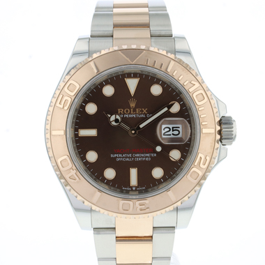 Rolex - Yachtmaster 40 Steel-Everose Gold Chocolate Dial