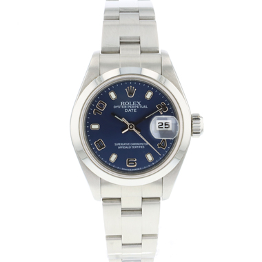 Rolex - Oyster Perpetual Date Lady Blue Dial