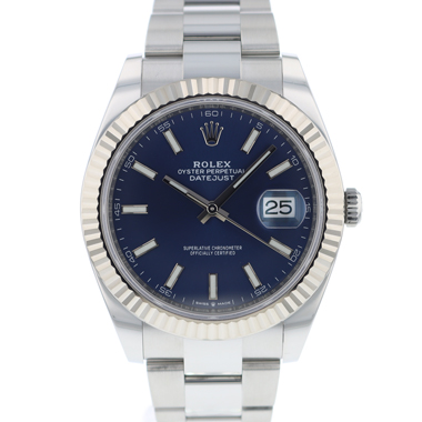 Rolex - Datejust 41 Fluted Blue Dial