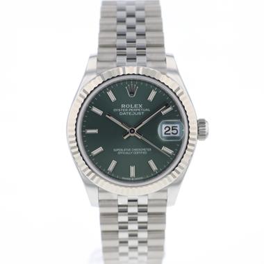 Rolex - Datejust 31 Jubilee Green Dial NEW