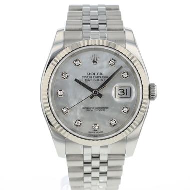 Rolex - Datejust 36 MOP Diamonds Dial