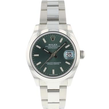 Rolex - Datejust 31 Midsize Green Dial NEW