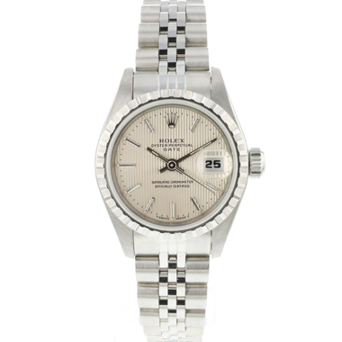 Rolex - Oyster Perpetual Lady Date Tapestry Dial