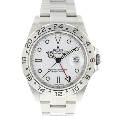 Rolex - Explorer II White Dial Rehaut 3186
